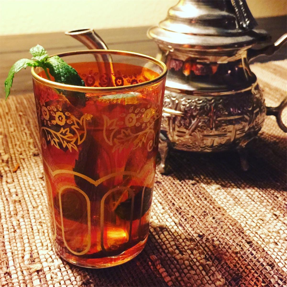 Moroccan Mint Tea www.tracingabby.com
