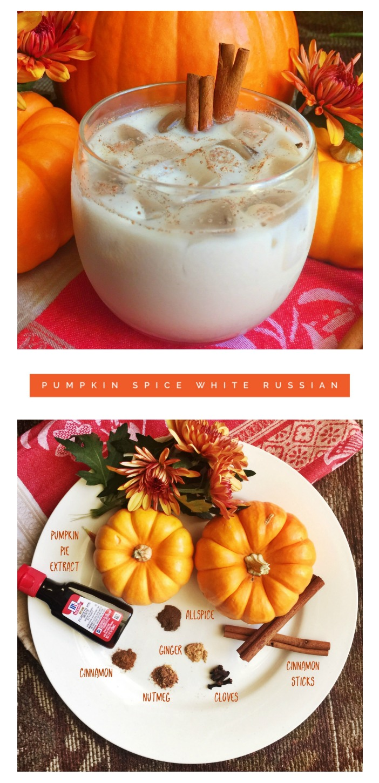 Pumpkin Spice White Russian, www.TracingAbby.com