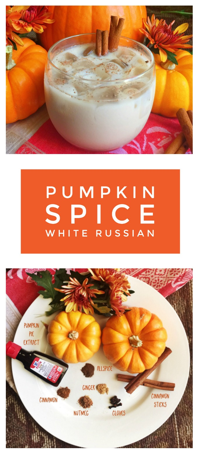 Pumpkin Spice White Russian!