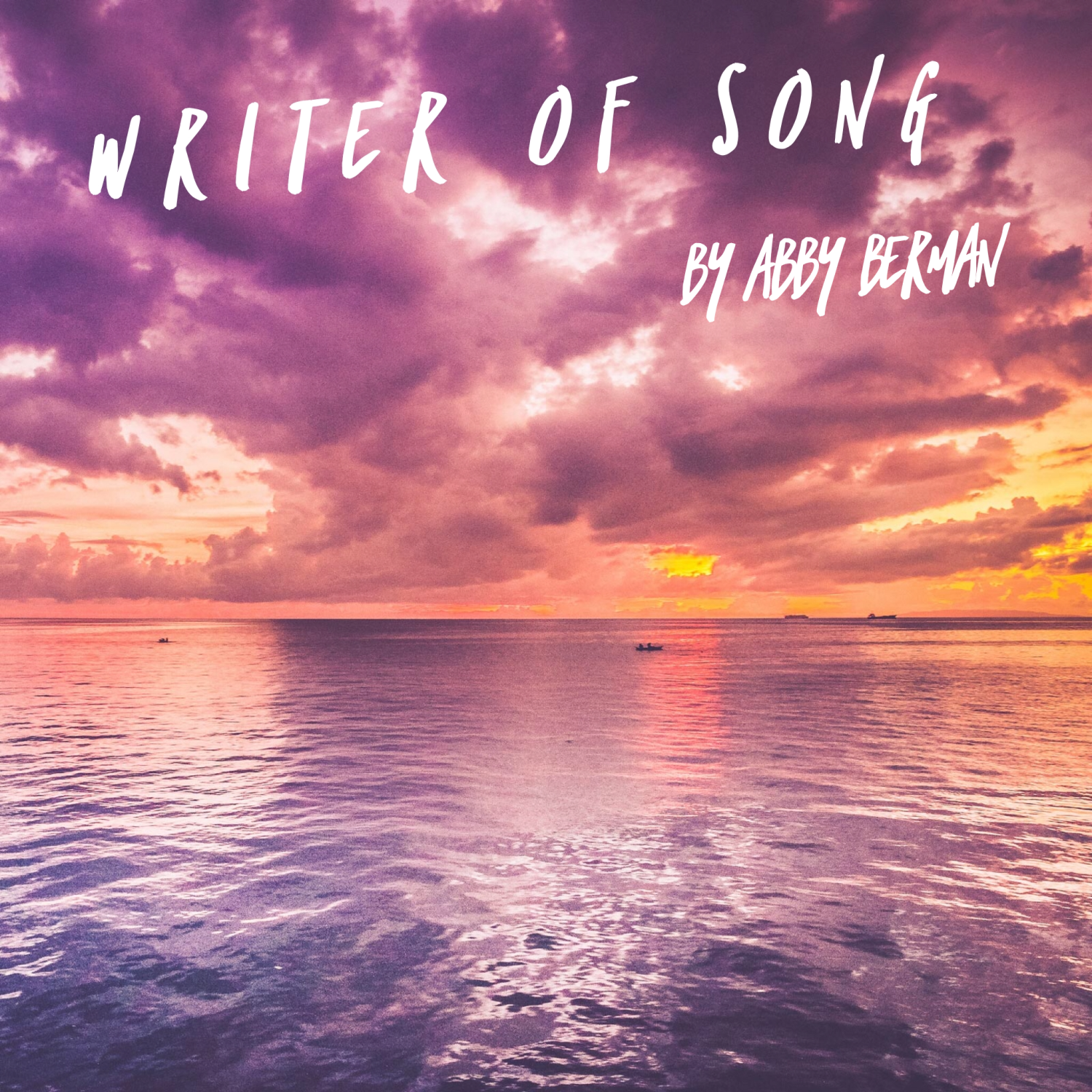"""Writer of Song"", a song by Abby Berman, www.tracingabby.com"